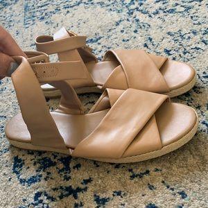 Blush, Diane Von Furstenberg Espadrille Sandals 8